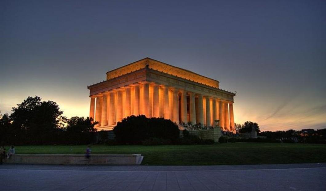 5) نصب لنكولن التذكاري، واشنطن العاصمة، الولايات المتحدة الأمريكية